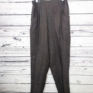 FLAX linen two piece top and pants set
